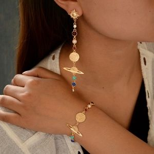 """Urban Outfitter """"Spacin-Out!"""" Solar System Jewelry"""